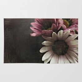 gazania flowers Rug