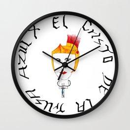 El Cristo de la trusa azul Wall Clock