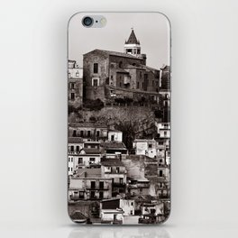 "Urban Landscape of Sicily ""VACANCY"" zine iPhone Skin"