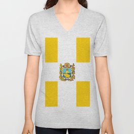 flag of Stavropol Unisex V-Neck