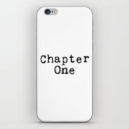 Chapter One (Typewriter) iPhone Skin