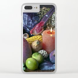 AUTUMNAL SOUND Clear iPhone Case