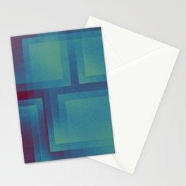 Retro surf pattern Stationery Cards