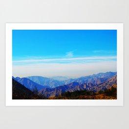 Angeles Haze Art Print