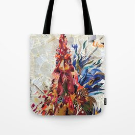 Righteous rooster Tote Bag