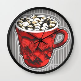 Hot Cocoa  Wall Clock