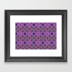 Dots 2 Framed Art Print