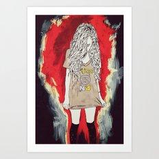 üss Art Print