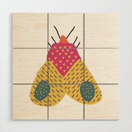 Moth Wood Wall Art