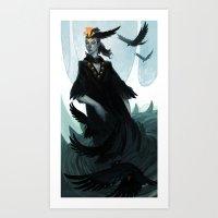 Lady Murder Art Print