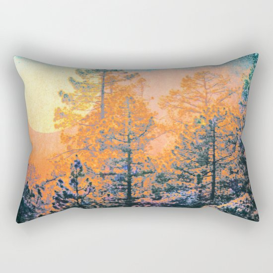 Sunrise Forest Rectangular Pillow