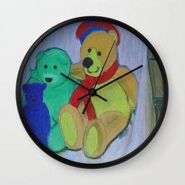 Teddy Bear Gathering Wall Clock
