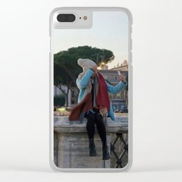 Selfie in Rome Clear iPhone Case