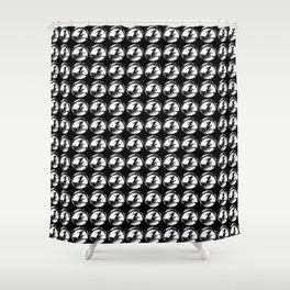 Witches in formation Shower Curtain