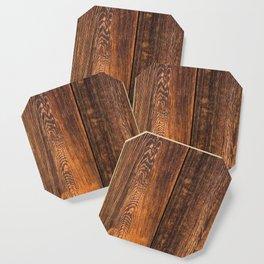 Old wood texture Coaster