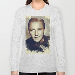 Bing Crosby, Hollywood Legend Long Sleeve T-shirt