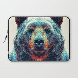 Bear - Colorful Animals Laptop Sleeve