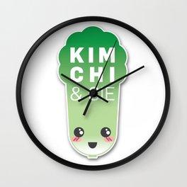 Kimchi & Cie - Official logo Wall Clock