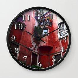Red Villa, Rome Wall Clock