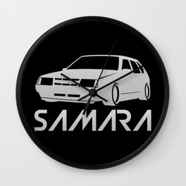 Lada Samara - silver - Wall Clock