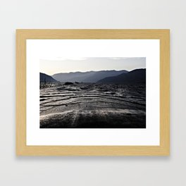 The End Of A Route  Framed Art Print
