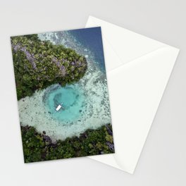 Green Lagoon Stationery Cards