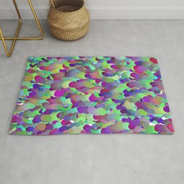ombre cpu speed race Rug