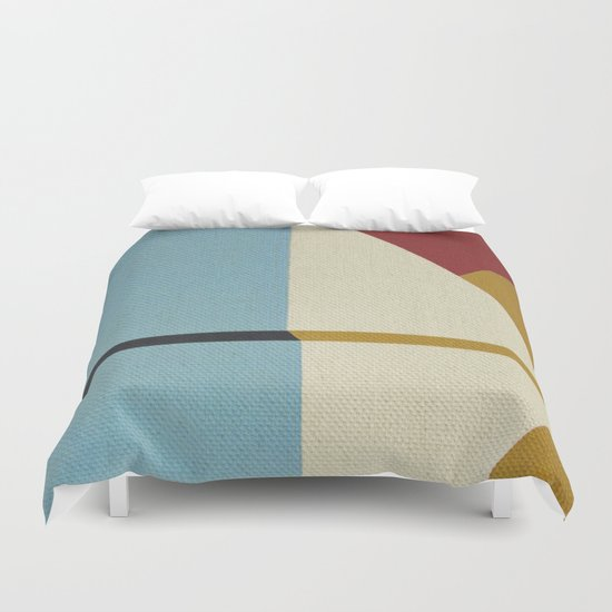 Geometric Thoughts 2 Duvet Cover