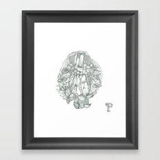 P O P P Y Framed Art Print