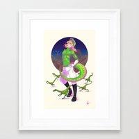 jjba Framed Art Prints featuring JJBA :: Diego Brando Ver.2 by Thais Magnta Canha