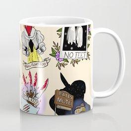 Halloween Horror Flashsheet Coffee Mug