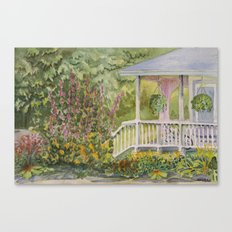 Warren Porch Canvas Print