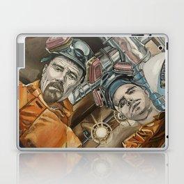 Heisenberg and Jesse, oil painting Laptop & iPad Skin