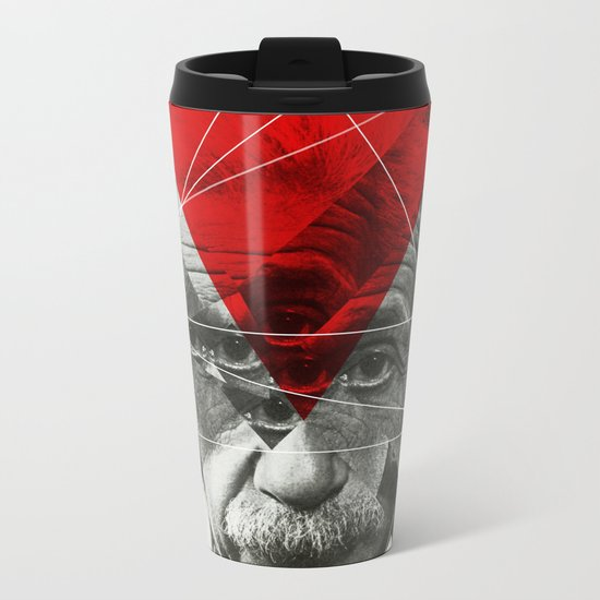 Albert E Mix 3c Metal Travel Mug