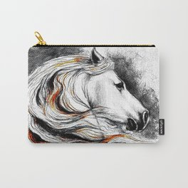 Dark Beauty Horse Carry-All Pouch