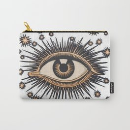 Vintage Eye Carry-All Pouch