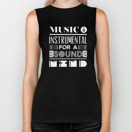 Music is instrumental  Biker Tank