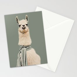 Vintage Cold Llama Stationery Cards