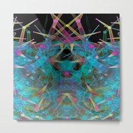 Aquarium Phytoplankton (Cool) Metal Print