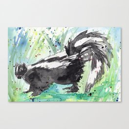 Skunk Life Canvas Print