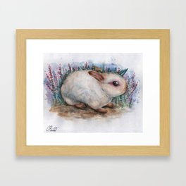 Mr. Bunny Framed Art Print