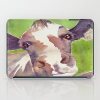 cow iPad Cases featuring cow by Michele Petri