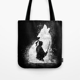 The Lone Samurai Tote Bag