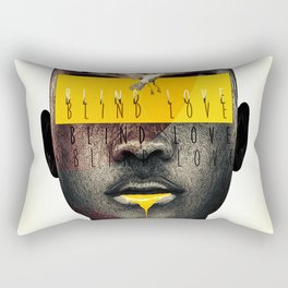 blind love Rectangular Pillow