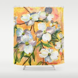Can You Feel Spring ? Shower Curtain