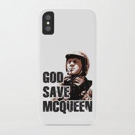God Save McQueen! iPhone Case