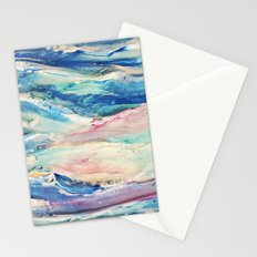 3D Ocean waves Stationery Cards