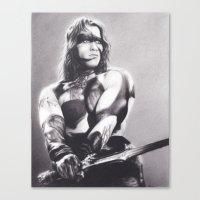 conan Canvas Prints featuring Conan the Barbarian by Brittni DeWeese