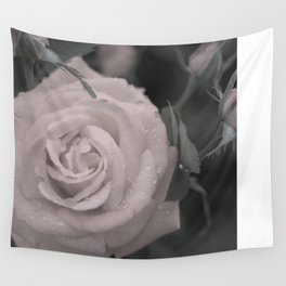 Raining Roses Wall Tapestry