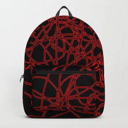 Defined by Red Backpack